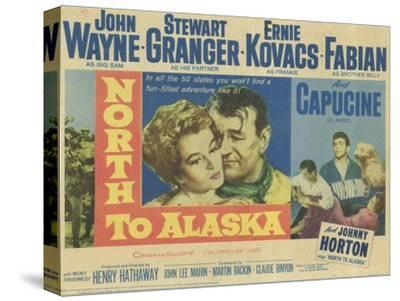 North to Alaska, 1960--Stretched Canvas Print