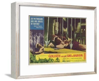Goliath and the Sins of Babylon, 1964--Framed Art Print