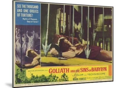 Goliath and the Sins of Babylon, 1964--Mounted Art Print