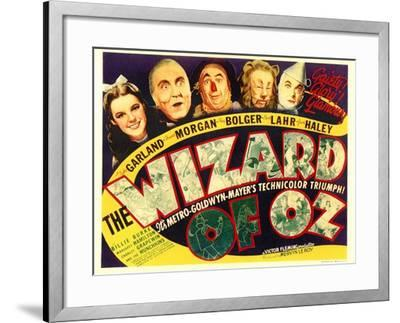 The Wizard of Oz, 1939--Framed Art Print