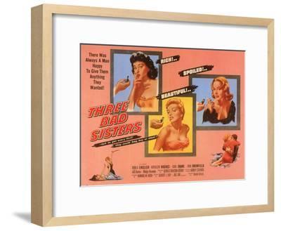 Three Bad Sisters, 1955--Framed Art Print