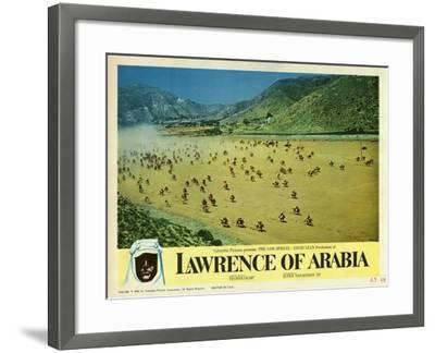 Lawrence of Arabia, 1963--Framed Art Print