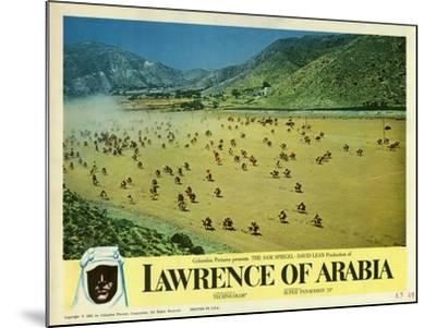 Lawrence of Arabia, 1963--Mounted Art Print