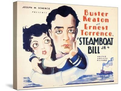 Steamboat Bill, Jr., 1928--Stretched Canvas Print