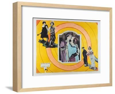 The Three Ages, 1923--Framed Art Print