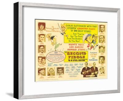 Second Fiddle to a Steel Guitar, 1965--Framed Art Print