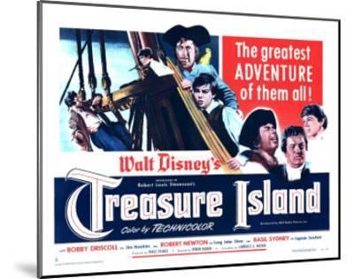 Treasure Island, 1950--Mounted Art Print