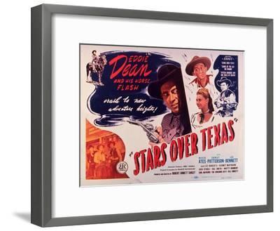 Stars Over Texas, 1946--Framed Art Print