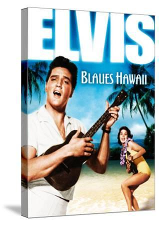 Blue Hawaii , German Movie Poster, 1961--Stretched Canvas Print
