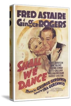 Shall We Dance, 1937--Stretched Canvas Print