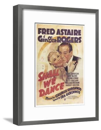 Shall We Dance, 1937--Framed Art Print