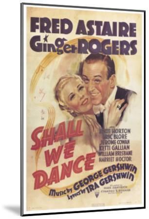 Shall We Dance, 1937--Mounted Art Print
