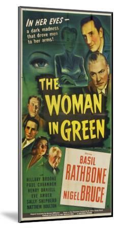 The Woman in Green, 1945--Mounted Art Print