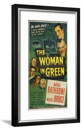 The Woman in Green, 1945--Framed Art Print