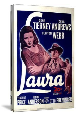 Laura, 1944--Stretched Canvas Print