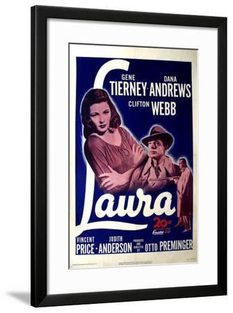 Laura, 1944--Framed Art Print