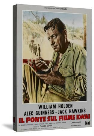 Bridge on the River Kwai, Italian Movie Poster, 1958--Stretched Canvas Print