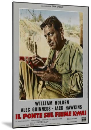 Bridge on the River Kwai, Italian Movie Poster, 1958--Mounted Art Print