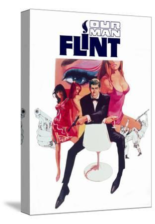 Our Man Flint, 1966--Stretched Canvas Print