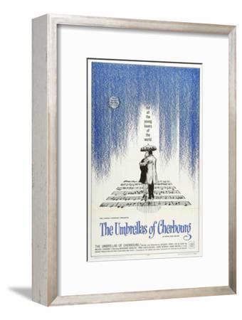 The Umbrellas of Cherbourg, 1964--Framed Art Print