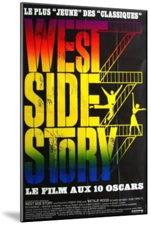 West Side Story, French Movie Poster, 1961--Mounted Art Print