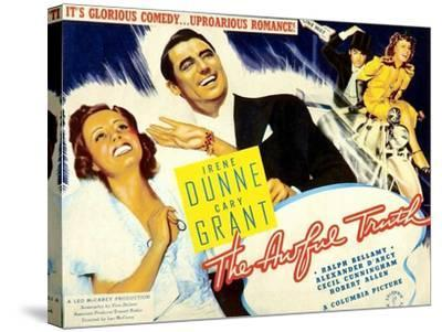 The Awful Truth, 1937--Stretched Canvas Print