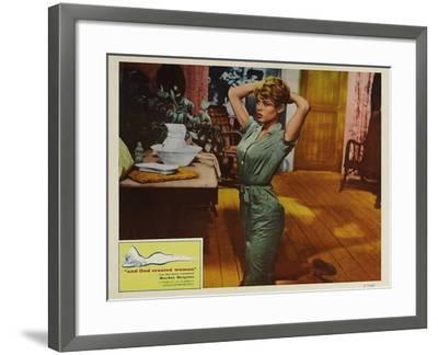 And God Created Woman, 1957--Framed Art Print