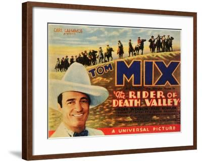 The Rider of Death Valley, 1932--Framed Art Print