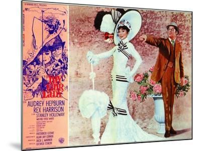 My Fair Lady, Italian Movie Poster, 1964--Mounted Art Print