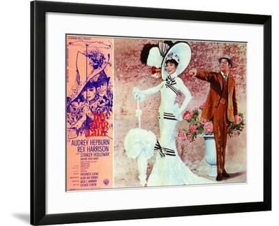 My Fair Lady, Italian Movie Poster, 1964--Framed Art Print