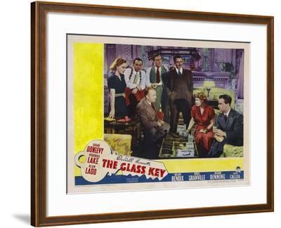 Glass Key, 1942--Framed Art Print
