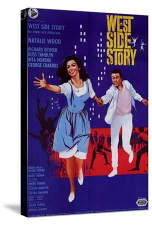 West Side Story, Italian Movie Poster, 1961--Stretched Canvas Print