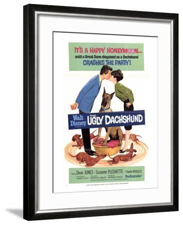 The Ugly Dachshund, 1966--Framed Art Print