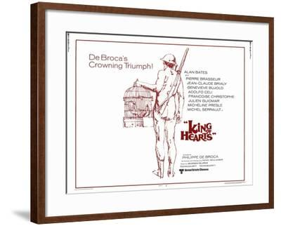 King of Hearts, 1967--Framed Art Print