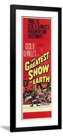 The Greatest Show on Earth, 1967--Framed Art Print