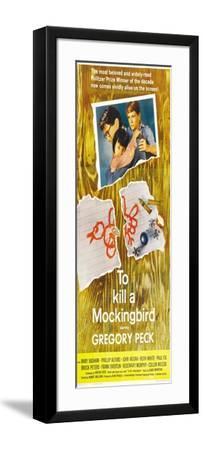 To Kill a Mockingbird, 1963--Framed Art Print