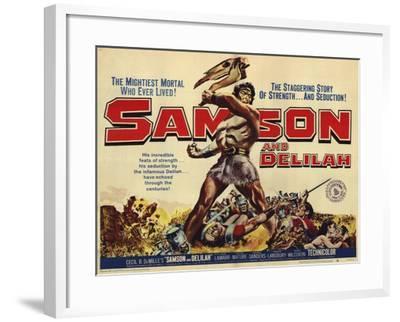 Samson and Delilah, 1959--Framed Art Print