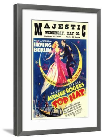 Top Hat, 1935--Framed Art Print