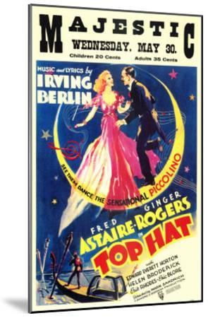 Top Hat, 1935--Mounted Art Print