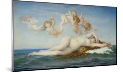 Birth of Venus-Alexandre Cabanel-Mounted Giclee Print