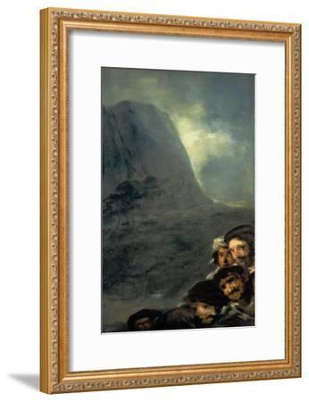 Allegory of Trade-Francisco de Goya-Framed Giclee Print