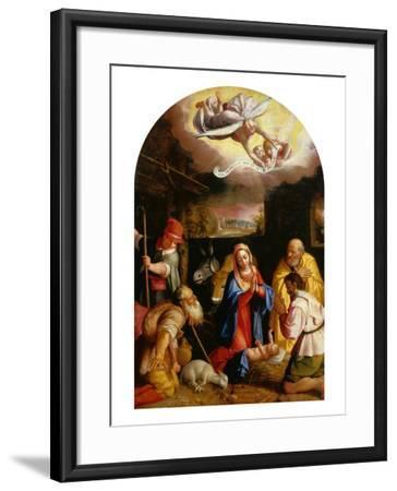 Adoration of the Shepherds-Durante Alberti-Framed Giclee Print
