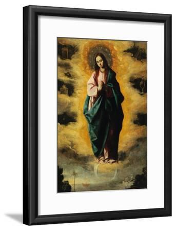 Immaculate Conception-Francisco de Zurbar?n-Framed Giclee Print