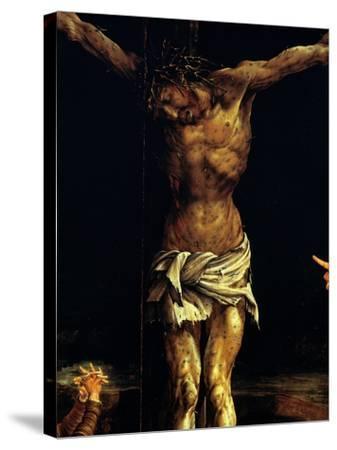 Isenheim Altar: Crucifixion, detail-Matthias Gruenewald-Stretched Canvas Print