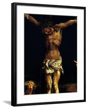 Isenheim Altar: Crucifixion, detail-Matthias Gruenewald-Framed Giclee Print