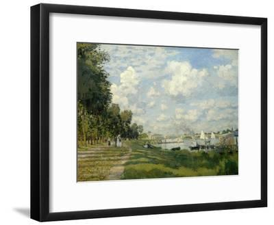 The Argenteuil Basin-Claude Monet-Framed Giclee Print