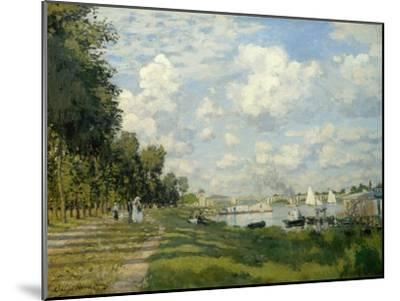 The Argenteuil Basin-Claude Monet-Mounted Giclee Print