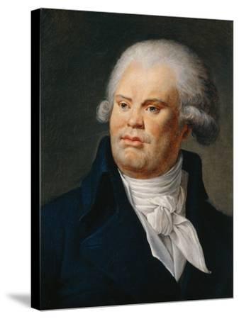 Portrait of Georges Danton--Stretched Canvas Print