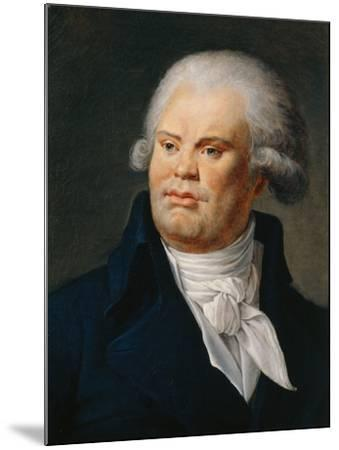 Portrait of Georges Danton--Mounted Giclee Print
