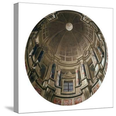 Dome-Andrea Pozzo-Stretched Canvas Print